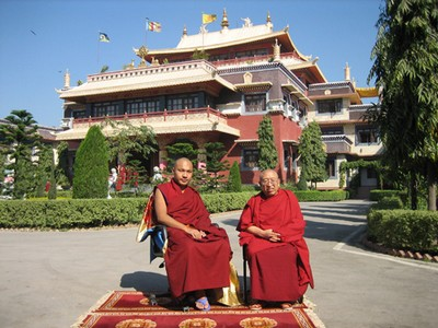 karmapa and thrangurinpoche